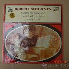 Discos de vinilo: ROBERT SCHUMANN, CONCIERTO PARA PIANO OP 54 (VOL 15). Lote 15478241