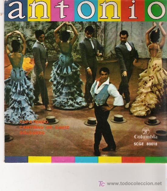 ANTONIO (Música - Discos - Singles Vinilo - Flamenco, Canción española y Cuplé)