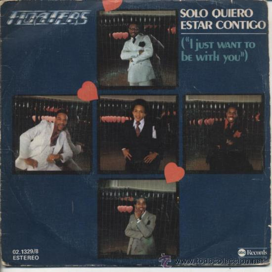 FLOATERS- I JUST WANT TO BE WITH YOU (Música - Discos - Singles Vinilo - Funk, Soul y Black Music)
