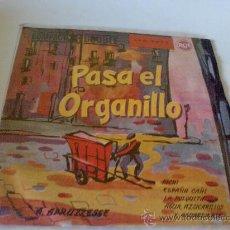 """Discos de vinilo: DISCO VINILO PASA EL ORGANILLO """"PICHI"""". Lote 26300231"""