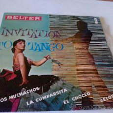 "Discos de vinilo: DISCO VINILO INVITATION TO TANGO ""ADIOS MUCHACHOS"". Lote 26300238"