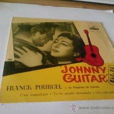 "Discos de vinilo: DISCO VINILO JOHNNY GUITAR ""ORQUESTA FRANCK POURCEL"". Lote 26300241"