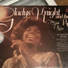 Discos de vinilo: GLADYS KNIGHT AND THE PIPS - THE LOOK OF LOVE *** MOTOWN ENGLAND. Lote 15525743