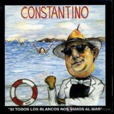 Discos de vinilo: CONSTANTINO - SI TODOS LOS BLANCOS NOS VAMOS AL MAR / MAMBO 2000 - SINGLE 1992 - PROMO. Lote 15525956