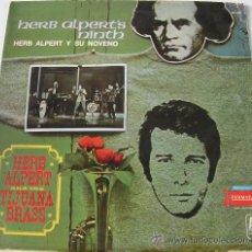 Discos de vinilo: HERB ALPERT - NINTH - LP ARGENTINO. Lote 17557061