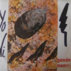 Discos de vinilo: GASCÓN MONROY. Lote 18237148
