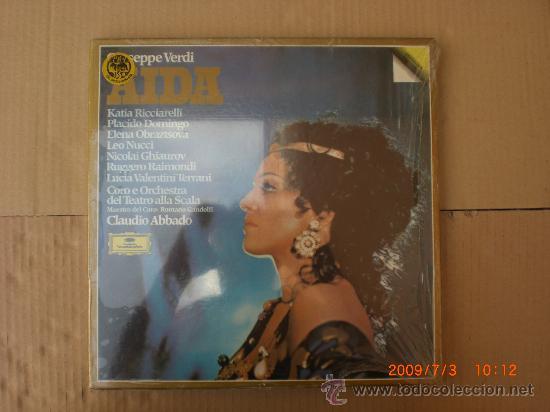 VERDI, AIDA (Música - Discos - LP Vinilo - Clásica, Ópera, Zarzuela y Marchas)