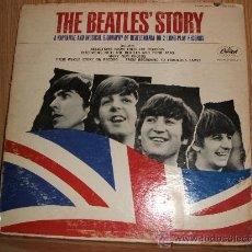 Discos de vinilo: THE BEATLES STORY -DOBLE LP EDICION USA - CAPITOL . Lote 27618645