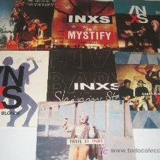 Discos de vinilo: LOTE DE 7 SINGLES INXS. Lote 15551609