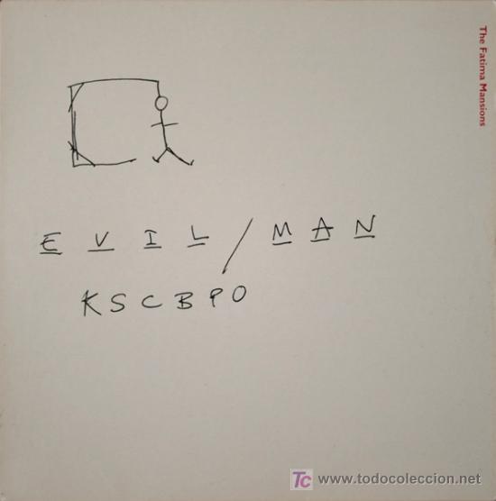 THE FATIMA MANSIONS - EVIL MAN (EP) (Música - Discos de Vinilo - EPs - Pop - Rock Internacional de los 90 a la actualidad)