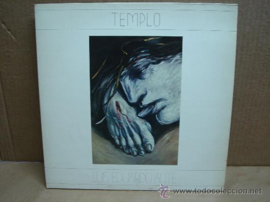 DISCO DOBLE VINILO LP - LUIS EDUARDO AUTE - TEMPLO (Música - Discos - LP Vinilo - Solistas Españoles de los 70 a la actualidad)
