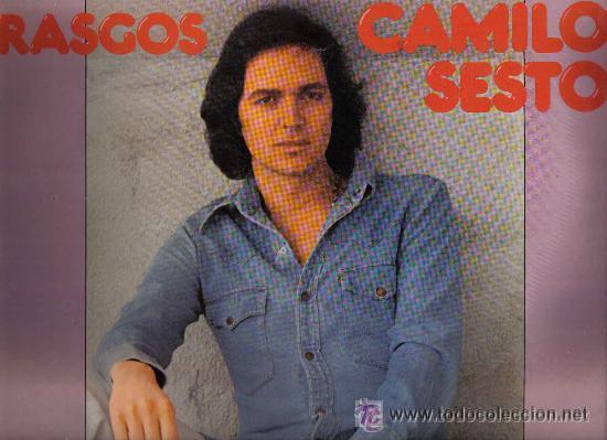 CAMILO SESTO LP RASGOS PORTADA DOBLE 1977 ARIOLA SPA (Música - Discos - LP Vinilo - Solistas Españoles de los 70 a la actualidad)