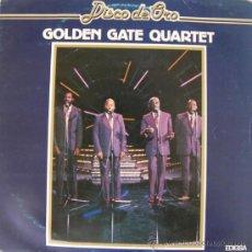 Discos de vinilo: GOLDEN GATE QUARTET - DISCO DE ORO - 1982. Lote 24865074