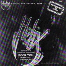 Discos de vinilo: HELIX-ROCK YOU SINGLE 1984 PROMOCIONAL SPAIN. Lote 15576315