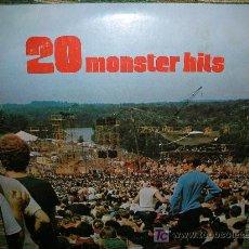 Discos de vinilo: 20 MONSTER HIST-ORIGINAL U.S.A.-COLUMBIA 1972-2 LP´S. Lote 27285400