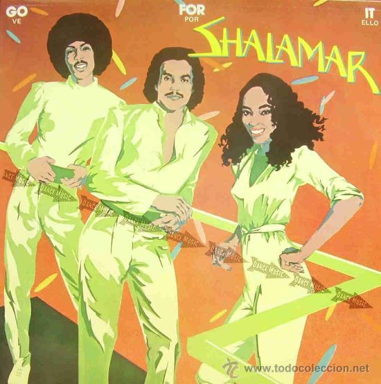 SHALAMAR-GO FOR IT LP VINILO 1981 SPAIN (Música - Discos - LP Vinilo - Funk, Soul y Black Music)