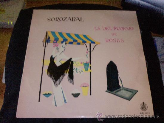 LP VINILO LA DEL MANOJO DE ROSAS (Música - Discos - LP Vinilo - Clásica, Ópera, Zarzuela y Marchas)