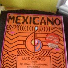 Discos de vinilo: LP VINILO MEXICANO DE LUIS COBOS. Lote 26620636