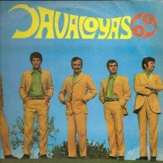 Discos de vinilo: LOS JAVALOYAS 10¨ (25 CTMS.) SELLO ORLADOR AÑO 1969 EDICCIÓN ESPECIAL CIRCULO DE LECTORES. Lote 15600355
