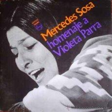 Discos de vinilo: LP ARGENTINO DE MERCEDES SOSA AÑO 1971 EDICIÓN ORIGINAL. Lote 26514231