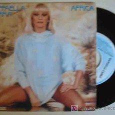 Discos de vinilo: RAFFAELLA CARRA : AFRICA; PORQUE EL AMOR. 1984. HISPAVOX 445144. Lote 26946364