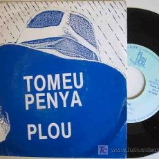 Discos de vinilo: TOMEU PENYA : PLOU; FESTEJAM. 1987. BLAU S 032. . Lote 15714204