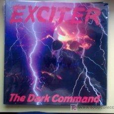 Discos de vinilo: EXCITER - THE DARK COMMAND LP 1997 LIMITADO A 1500 COPIAS HEAVY US METAL. Lote 18302036