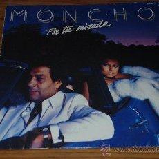 Discos de vinilo: LP MONCHO. POR TU MIRADA.. Lote 27461901