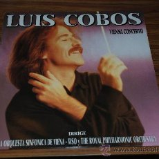 Discos de vinilo: LP LUIS COBOS. VIENNA CONCERTO.. Lote 26444366