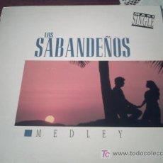 Discos de vinilo: LOS SABANDEÑOS-MEDLEY MAXI 1993 PEPETO. Lote 15627736