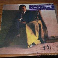 Discos de vinilo: LP CHIQUITETE, ERES MIA. Lote 27227425
