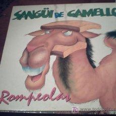 Discos de vinilo: ROMPEOLAS - SANGÜI DE CAMELLO /MAXI/NOVI/09. Lote 15650284