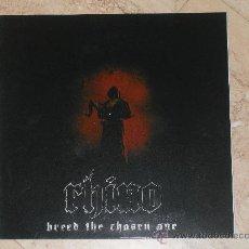 Discos de vinilo: LP- RHINO -BREED THE CHOSEN ONE- ORIGINAL-BILBAO BAND-MINT!!!. Lote 26112525