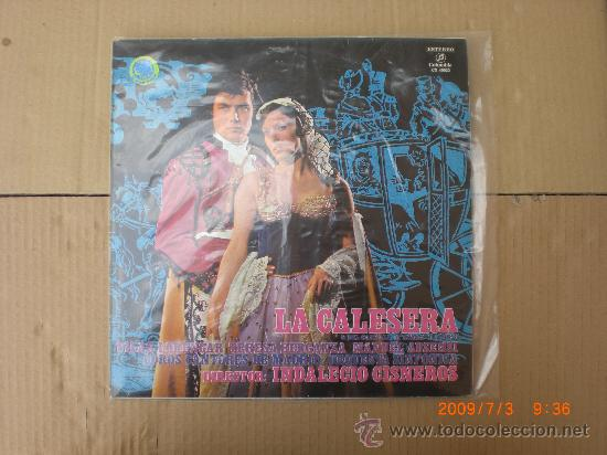 LA CALESERA (Música - Discos - LP Vinilo - Clásica, Ópera, Zarzuela y Marchas)