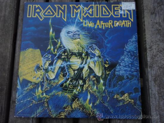IRON MAIDEN ( LIVE AFTER DEATH ) USA - 1985 2LPS CAPITOL RECORDS (Música - Discos - LP Vinilo - Heavy - Metal)
