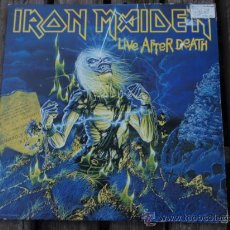 Discos de vinilo: IRON MAIDEN ( LIVE AFTER DEATH ) USA - 1985 2LPS CAPITOL RECORDS. Lote 15644757
