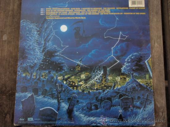 Discos de vinilo: IRON MAIDEN ( LIVE AFTER DEATH ) USA - 1985 2LPS CAPITOL RECORDS - Foto 2 - 15644757