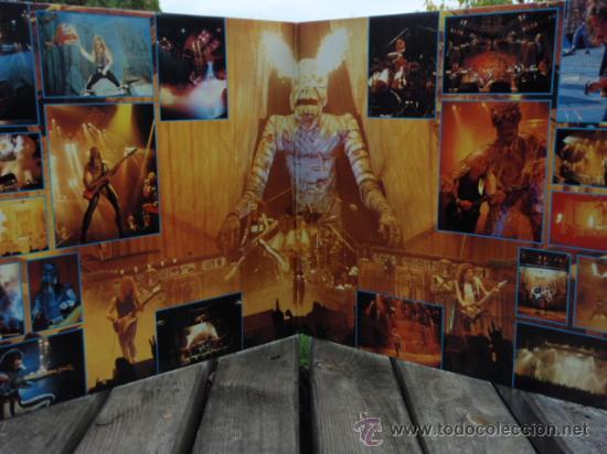 Discos de vinilo: IRON MAIDEN ( LIVE AFTER DEATH ) USA - 1985 2LPS CAPITOL RECORDS - Foto 3 - 15644757