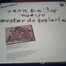 Discos de vinilo: NUEVO MESTER DE JUGLARIA. PARA BAILAR. MAXI SINGLE. PEPETO. Lote 15650633