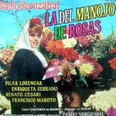 Discos de vinilo: LA DEL MANOJO DE ROSAS - PABLO SOROZÁBAL - 1970. Lote 27086454