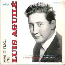 Discos de vinilo: MAS RITMO DE LUIS AGUILE - VERDE , VERDE *** EP ODEON 1964. Lote 18004663