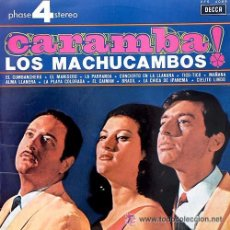 Discos de vinilo: LOS MACHUCAMBOS - CARAMBA - LP, 1966. Lote 27078326