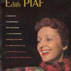 Discos de vinilo: EDITH PIAF 10¨ (25 CTMS.) SELLO PHILIPS EDITADO EN FRANCIA. Lote 15670274