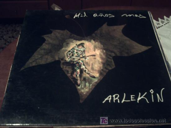 MAXI - ARLEKIN-MIL AÑOS MAS/VENTE CONMIGO/VAMOS A BAILAR/TOCAME - ORIGINAL ESPAÑOL,GAMO 1990 PEPETO (Música - Discos de Vinilo - Maxi Singles - Grupos Españoles de los 90 a la actualidad)