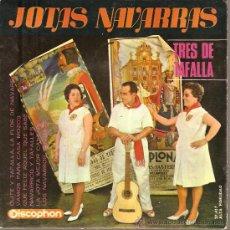 Dischi in vinile: EP NAVARRA FOLK - TRES DE TAFALLA - OLITE Y TAFALLA LA FLOR DE NAVARRA + 5. Lote 25148994