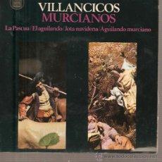 Discos de vinilo: EP MURCIA FOLK - EL PUEBLO ESPAÑOL + ORFEON FERNANDEZ CABALLERO - VILLANCICOS MURCIANOS . Lote 25191844