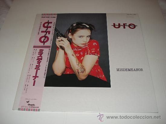 UFO / MISDEMEANOR - LP AUDIÓFILOS JAPÓN + OBI + ENCARTE / LETRAS ORIGINALES!!! !!! (Música - Discos - LP Vinilo - Heavy - Metal)