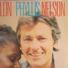 Discos de vinilo: ALAIN DELON / PHYLLIS NELSON MAXI-SINGLE SELLO CARRERE EDITADO EN FRANCIA. Lote 15721274