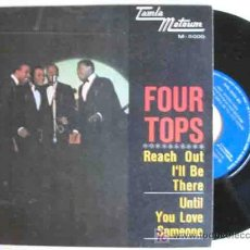 Discos de vinilo: THE FOUR TOPS : REACH OUT I'LL BE THERE. 1966. TAMLA MOTOUM M 5000. Lote 15794642