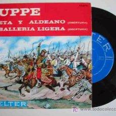 Discos de vinilo: F.VON SUPPE : POETA Y ALDEANO; CABALLERIA LIGERA. 1964. ORQUESTA DIRIGIDA POR JESÚS ETCHEVERRY. . Lote 15810074